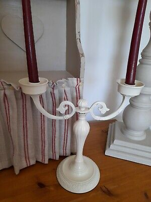 £5.99 • Buy Laura Ashley Candlestick / Candelabra Chippy Paint