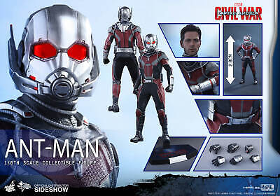 $ CDN440.60 • Buy Hot Toys Ant-Man MMS362 Captain America Civil War New And Mint In Box