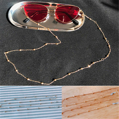AU1.44 • Buy Fashion Glasses Sunglasses Chain Holder Gold Lanyard Necklace Neck Cord String