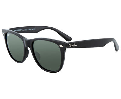 AU130 • Buy Ray-Ban Wayfarer 2140F Sunglasses - Black/Grey  AC109