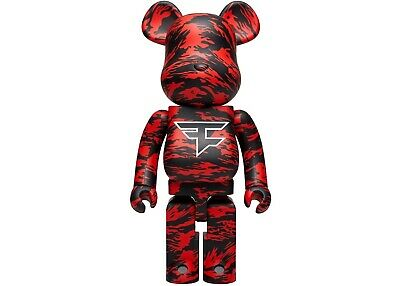 $1999 • Buy Bearbrick MEDICOM FAZE CLAN 1000% *IN HAND*