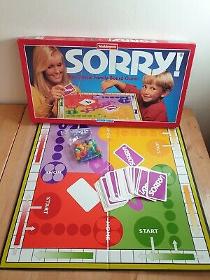£14.99 • Buy Sorry! 1994 Board Game Waddington's Complete