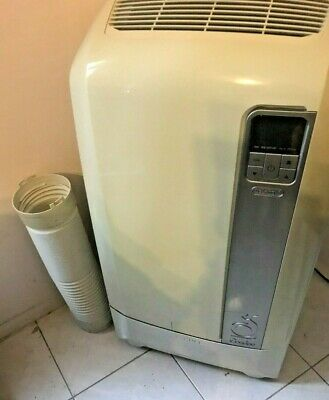 AU200 • Buy DeLonghi Portable Reverse Cycle Air Conditioning, PAC WE120HP With Remote.