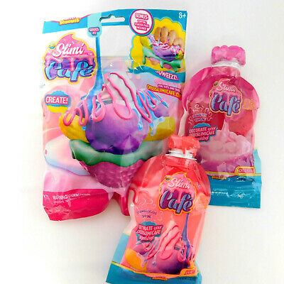 AU23.50 • Buy Create And Decorate - Slimi Cafe Soft N Slo Squeeze! Orb Squishies AND 2 SLIMES