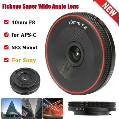 $ CDN85.18 • Buy 10mm F8 E Mount Fish‑eye Super Wide Angle Lens For Sony A3000/A6500/A6300 Camera