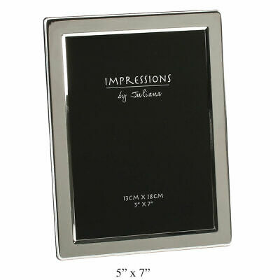 £14.30 • Buy JULIANA SILVER PLATED FLAT EDGE PICTURE PHOTO FRAME - 4 X6 , 5 X7 , 6 X8  10 X8