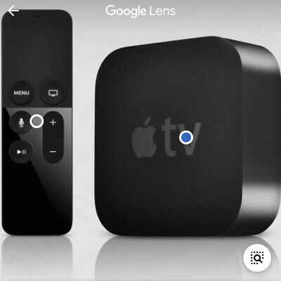 AU176.35 • Buy Apple TV (4th Generation) 32GB HD Media Streamer - Black (MR912LL/A)