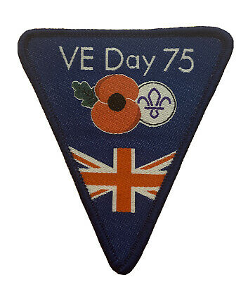 VE Day Camp Blanket Badge Scouts Cubs Beavers Guides • 2.50£