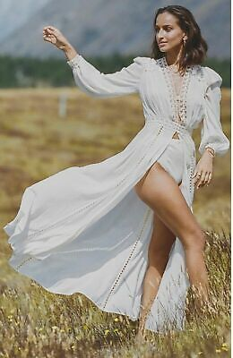 AU360 • Buy Spell And The Gypsy Design Le Gauze Lace Duster Off White Sz-XXL NWT