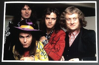 £79.99 • Buy Signed Slade Dave Hill Don Powell Jim Lea Photo Rare! Glam Rock Noddy Holder