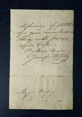 £124.99 • Buy Prince Edward Duke Of Kent Hand Signed Letter - Father Of Queen Victoria