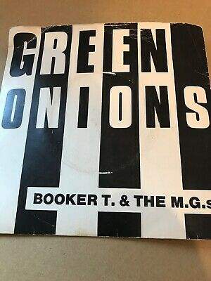 BOOKER T. AND THE MGs. 2x7  Vinyl Singles  GREEN ONIONS. /TIME IS TIGHT . • 6.99£