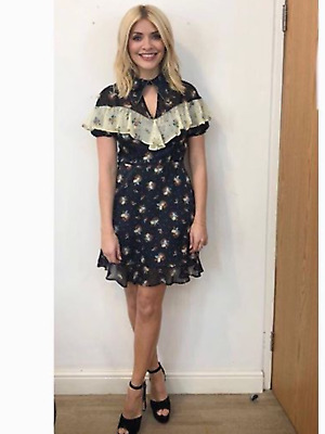 £23 • Buy BNWT Topshop Western Floral Embellished Dress UK 6 £46 Seen On Holly Willoughby
