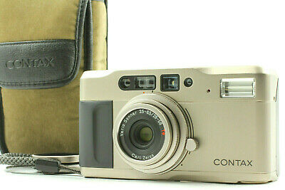 $ CDN398.40 • Buy 【Near MINT+++ Case】 Contax TVS Point & Shoot 35mm Compact Film Camera From JAPAN