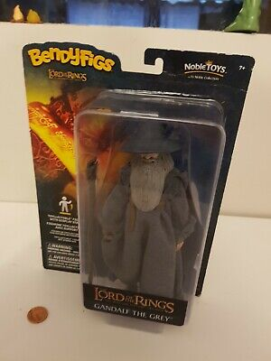 £4.99 • Buy Lord Of The Rings Gandalf Figure, Bendyfigs, LOTR, Noble Collection, BNIB, New