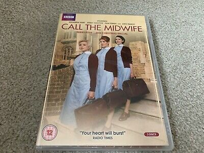 Call The Midwife, Series 4 DVD, Like New, Incl. 2014 Christmas Special • 1.10£