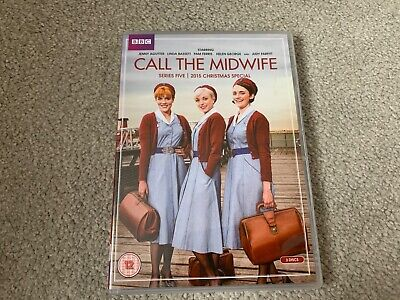 Call The Midwife, Series 5 DVD, Like New, Incl. 2015 Christmas Special • 1.40£