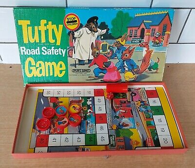 £7.99 • Buy Vintage Tufty Road Safety Game, Spears Games 1973