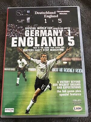 £8 • Buy Germany 1 England 5 Football Dvd World Cup Qualifier Match 2001 Rare