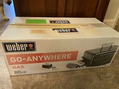 $ CDN124.63 • Buy Weber Go Anywhere Portable Black Gas BBQ Grill New Camping Tailgating