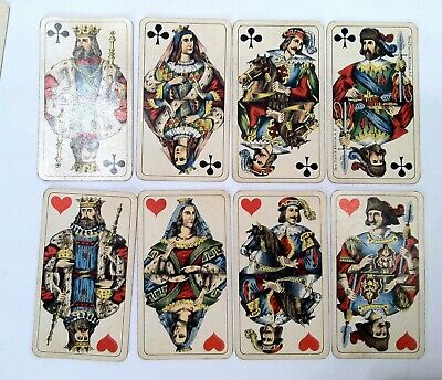 AU257.45 • Buy Old Antique Ferdinand Piatnik & Sohnes Playing Cards In Nice Vintage Shape 4 Age