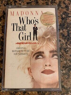£1.10 • Buy Madonna - Who's That Girl: Ost (uk Cassette Tape)