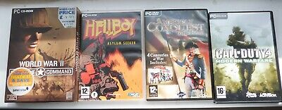 £5 • Buy Call Of Duty 4 / American Conquest / WW2 Frontline Command / Hellboy PC Games