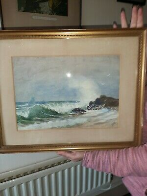 Old Watercolour Of The Ocean  • 24£