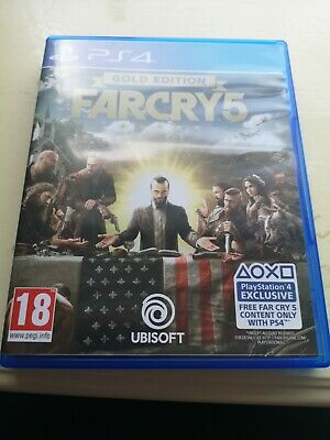 AU19.59 • Buy Far Cry 5 Gold Edition (PS4) - Game  BWVG The Cheap Fast Free Post