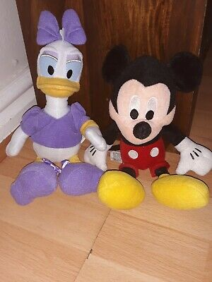 Mickey Mouse And Daisy Duck Disney Soft Toy • 10£