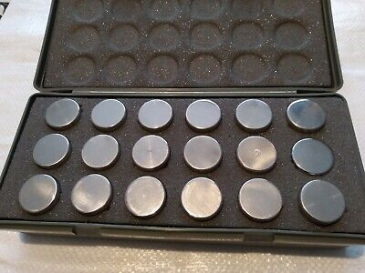 £4.99 • Buy Calibration Weights Cookery Scales Ishida X18 200g Storage Case Chrome/stainless