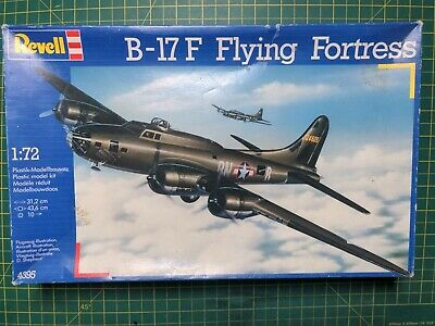 £19.99 • Buy Revell B-17 F FLYING FORTRESS Model Aircraft Kit 04395 1:72 RARE Incomplete