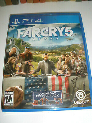 AU24.87 • Buy Far Cry 5 PlayStation 4.. PS4- Doomsday.  Excellent Condition!