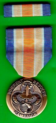 £10.64 • Buy US INHERENT RESOLVE CAMPAIGN MEDAL With Service Ribbon