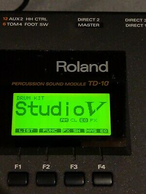 AU110.95 • Buy Roland Td-10 Percussion Drum Module W/ Extras!! Free Shipping!! Clean!!!