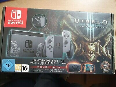 $ CDN598.44 • Buy Nintendo Switch Console - Diablo 3 Limited Edition Bundle Boxed -
