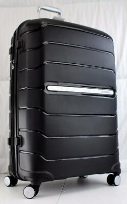 "View Details SAMSONITE FREEFORM 28"" EXPANDABLE HARDSIDE SPINNER SUITCASE 78257 BLACK • 119.50$"