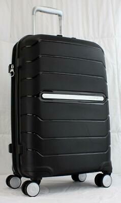 "View Details SAMSONITE FREEFORM 21"" HARDSIDE SPINNER CARRY ON SUITCASE BLACK • 98.00$"