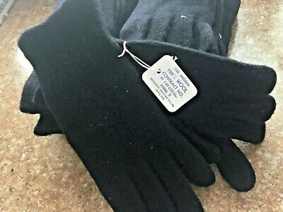$9 • Buy Us Made   Wool Glove Liners   - Cold Weather -  Blank - Military Gloves
