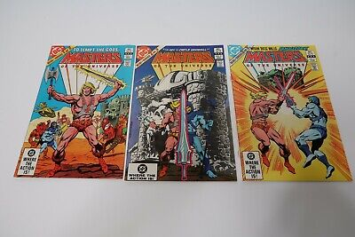 $35 • Buy He-Man Masters Of The Universe 1 -3 First Limited Series 1982 DC Comics VF - VF+