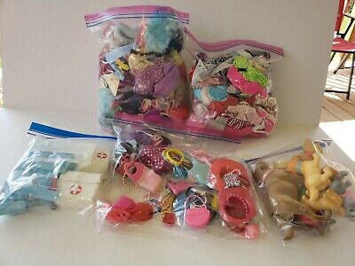 $ CDN108.82 • Buy Huge Lot Barbie Doll Clothes Vintage Nonvintage Clothes Accessories Dogs Cats A3