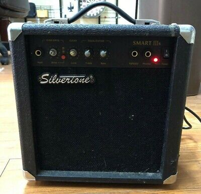 $ CDN73.51 • Buy Silvertone Electric Guitar Smart IIIS Amplifier Ships Fast See Description!!