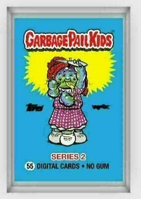 $190 • Buy Topps Wax.io Garbage Pail Kids OS2 Blockchain NFT Ultimate Pack 55 Cards Sealed