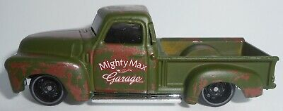 AU1.26 • Buy Hot Wheels 52 Chevy Pickup Truck Green Mighty Max Garage, 2021 Loose