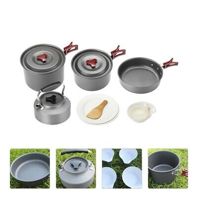 £63.22 • Buy 1 Set Of Backpacking Cookware Cooking Equipment For Hiking Outdoor