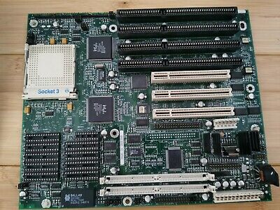 AU169 • Buy 486 Socket 3 Motherboard PCI/ISA Intel