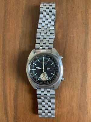 $ CDN759.09 • Buy Seiko 6139-6012 Chronograph Vintage Day Date Automatic Mens Watch Auth Works