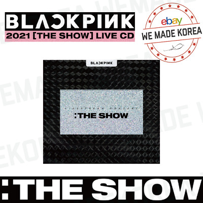 $ CDN60.38 • Buy [Pre-order] BLACKPINK 2021 THE SHOW LIVE CD + Photobook + Photocard + Sticker