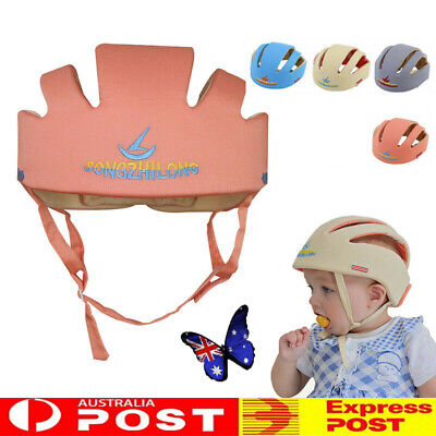 AU23.74 • Buy Infant Baby Toddler Safety Helmet Kids Head Protection Hat For Walking Crawling