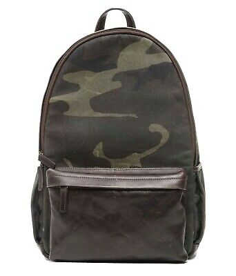 £250 • Buy Ona The Clifton Wax Canvas Camera Backpack Camouflage